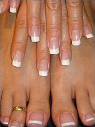 Уход за больными ногтями